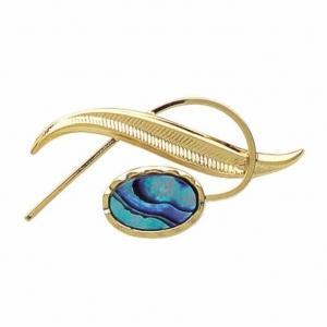 Fern Brooch - Ariki New Zealand Jewellery