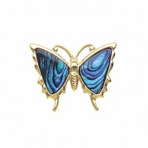 Butterfly Brooch - small - Ariki New Zealand Jewellery