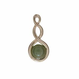 Double Twist Pendant - Ariki New Zealand Jewellery