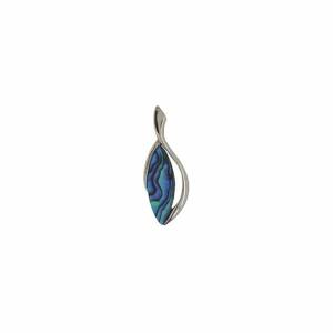 Flower Petal Pendant - Ariki New Zealand Jewellery