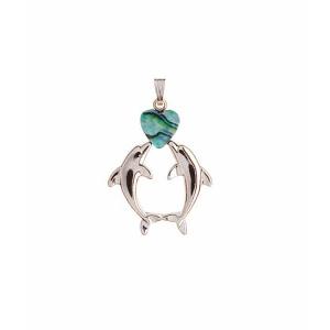 Kissing Dolphin Pendant - Ariki New Zealand Jewellery