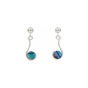 Dreaming Earrings - Sterling Silver - Ariki New Zealand Jewellery