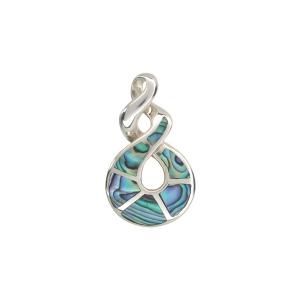 Triple Twist Pendant - Sterling Silver - Ariki New Zealand Jewellery